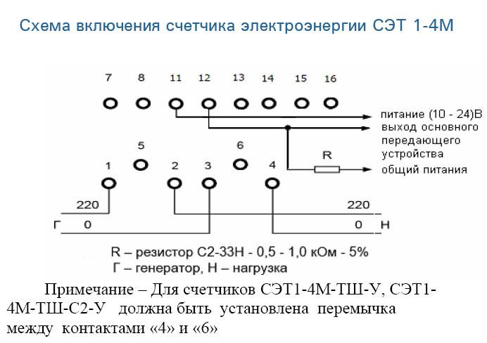 """СЭТ 1 -4 М в корпусе """"У"""""""